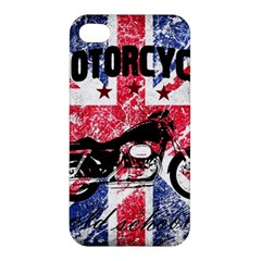 Motorcycle Old School Apple Iphone 4/4s Hardshell Case