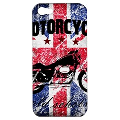 Motorcycle Old School Apple Iphone 5 Hardshell Case