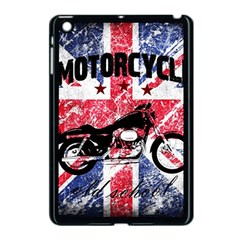 Motorcycle Old School Apple Ipad Mini Case (black) by Valentinaart
