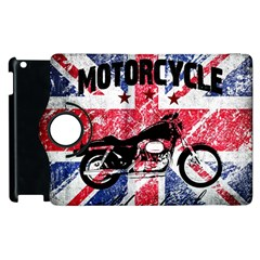 Motorcycle Old School Apple Ipad 3/4 Flip 360 Case by Valentinaart