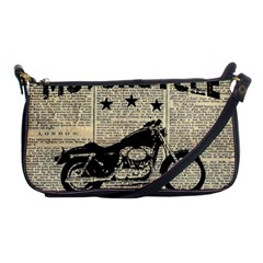 Motorcycle Old School Shoulder Clutch Bags