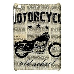 Motorcycle Old School Apple Ipad Mini Hardshell Case by Valentinaart