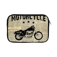 Motorcycle Old School Apple Ipad Mini Zipper Cases by Valentinaart