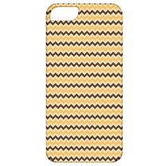 Colored Zig Zag Apple Iphone 5 Classic Hardshell Case by Colorfulart23