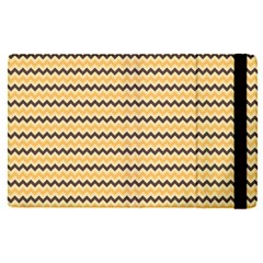 Colored Zig Zag Apple Ipad Pro 12 9   Flip Case