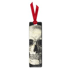 Newspaper Skull Small Book Marks by Valentinaart
