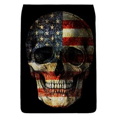 American Flag Skull Flap Covers (l)  by Valentinaart