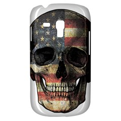 American Flag Skull Galaxy S3 Mini by Valentinaart