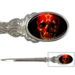 Russian flag skull Letter Openers Front