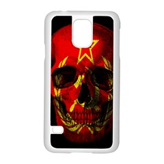 Russian Flag Skull Samsung Galaxy S5 Case (white)