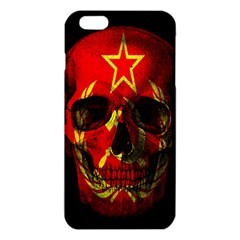 Russian Flag Skull Iphone 6 Plus/6s Plus Tpu Case by Valentinaart