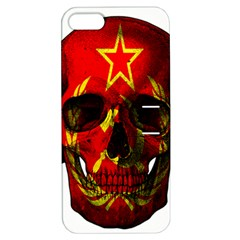 Russian Flag Skull Apple Iphone 5 Hardshell Case With Stand by Valentinaart