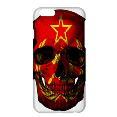 Russian Flag Skull Apple Iphone 6 Plus/6s Plus Hardshell Case by Valentinaart