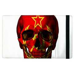 Russian Flag Skull Apple Ipad Pro 9 7   Flip Case by Valentinaart
