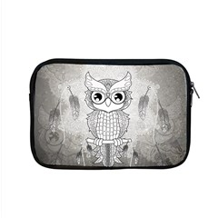 Wonderful Owl, Mandala Design Apple Macbook Pro 15  Zipper Case by FantasyWorld7