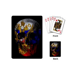Russian Flag Skull Playing Cards (mini)