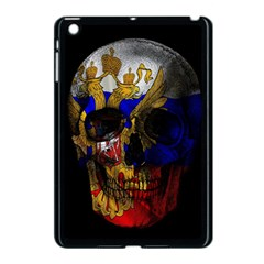 Russian Flag Skull Apple Ipad Mini Case (black) by Valentinaart