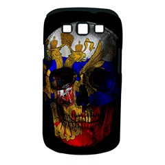 Russian Flag Skull Samsung Galaxy S Iii Classic Hardshell Case (pc+silicone) by Valentinaart