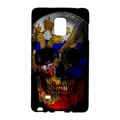 Russian Flag Skull Galaxy Note Edge by Valentinaart