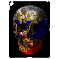 Russian Flag Skull Apple Ipad Pro 12 9   Hardshell Case by Valentinaart