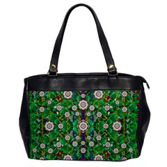 Pearl Flowers In The Glowing Forest Office Handbags by pepitasart
