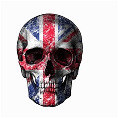 Uk Flag Skull Small Garden Flag (two Sides) by Valentinaart