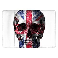 Uk Flag Skull Samsung Galaxy Tab 10 1  P7500 Flip Case