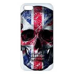 Uk Flag Skull Iphone 5s/ Se Premium Hardshell Case