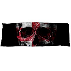 Uk Flag Skull Body Pillow Case Dakimakura (two Sides) by Valentinaart