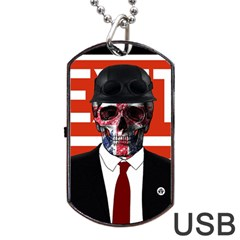 Dualism Dog Tag Usb Flash (two Sides)