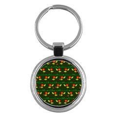 Plants And Flowers Key Chains (round)  by linceazul