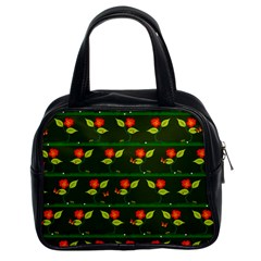 Plants And Flowers Classic Handbags (2 Sides) by linceazul
