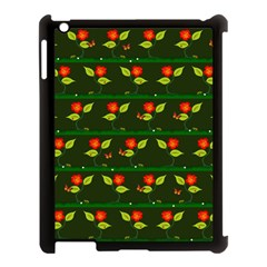 Plants And Flowers Apple Ipad 3/4 Case (black) by linceazul