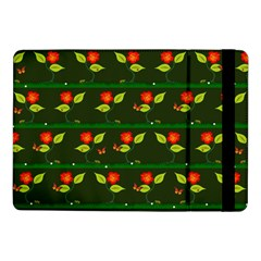 Plants And Flowers Samsung Galaxy Tab Pro 10 1  Flip Case by linceazul