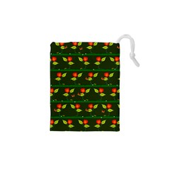 Plants And Flowers Drawstring Pouches (xs)  by linceazul