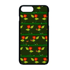 Plants And Flowers Apple Iphone 7 Plus Seamless Case (black) by linceazul