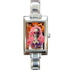 Bride From Hell Rectangle Italian Charm Watch
