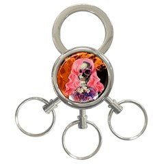 Bride From Hell 3 Ring Key Chains by Valentinaart