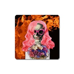 Bride From Hell Square Magnet by Valentinaart