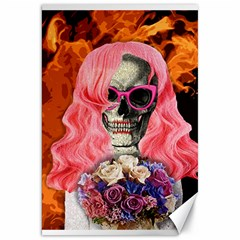 Bride From Hell Canvas 20  X 30   by Valentinaart