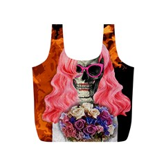 Bride From Hell Full Print Recycle Bags (s)  by Valentinaart