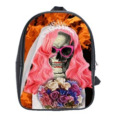 Bride From Hell School Bags(large)  by Valentinaart