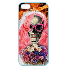 Bride From Hell Apple Seamless Iphone 5 Case (color) by Valentinaart