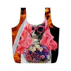 Bride From Hell Full Print Recycle Bags (m)  by Valentinaart