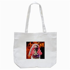 Bride From Hell Tote Bag (white) by Valentinaart