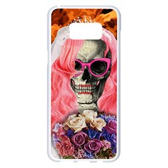 Bride From Hell Samsung Galaxy S8 Plus White Seamless Case by Valentinaart