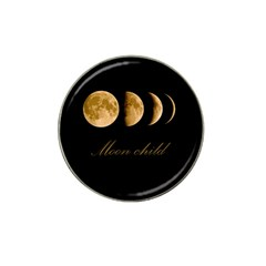Moon Child Hat Clip Ball Marker (10 Pack) by Valentinaart