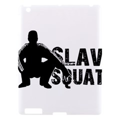 Slav Squat Apple Ipad 3/4 Hardshell Case by Valentinaart