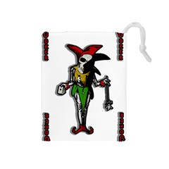 Joker  Drawstring Pouches (medium)