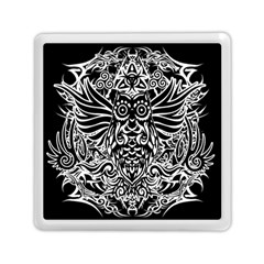 Tattoo Tribal Owl Memory Card Reader (square)